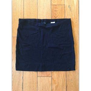 Medium H&M Black Bodycon Mini Skirt